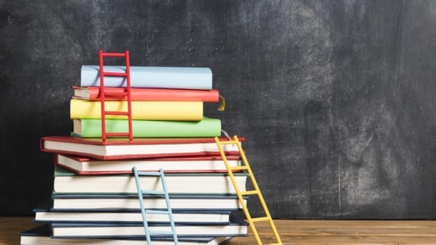set-books-ladders_23-2148207614